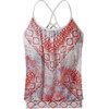 Prana W's Meadow Top Sunwashed Red